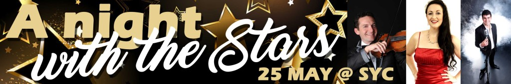 A Night with the stars web banner 25 May 2017