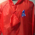 Red Waterproof Jacket $39.95
