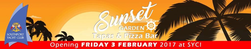 Sunset Garden - Tapas and Pizza Bar Website Header 2017 3