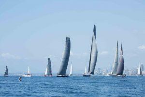 IRC Fleet on the final day at XXXX Sail Paradise 2015