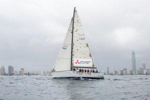 Mates4Mates sailing onboard Alacrity at XXXX Sail Paradise 2015 LR