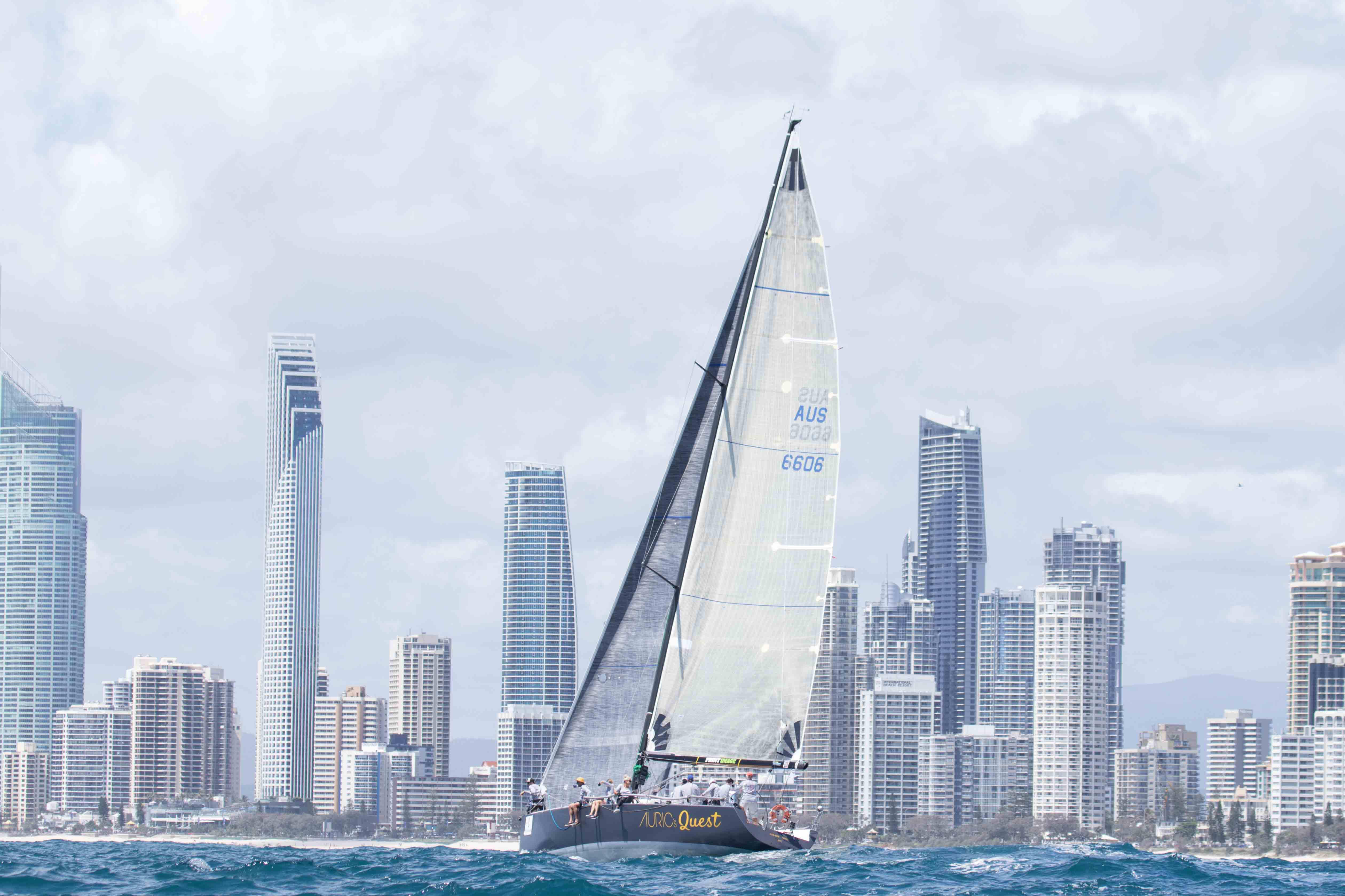 Fred Bestall's Auric's Quest, crowned Champion of the 2017 Bartercard Sail Paradise Regatta, IRC Division