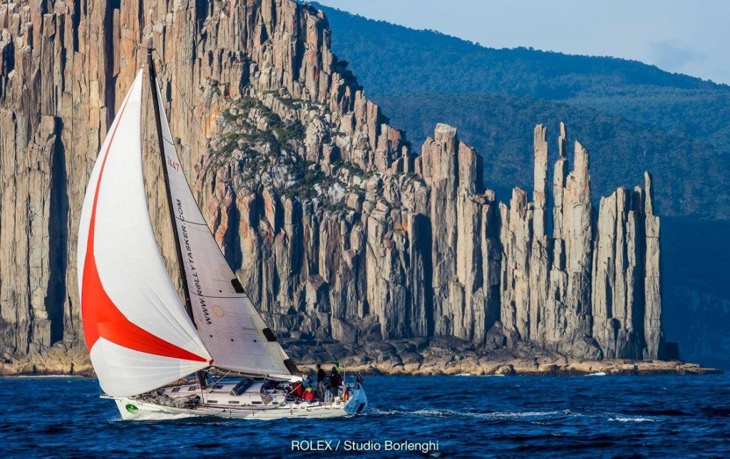Rod West's Another Painkiller competing in the premier yacht race, 2017 Rolex Sydney Hobart