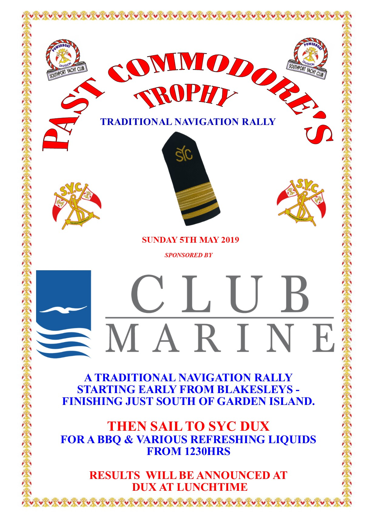 RelNt Past 2019 - Southport Yacht Club